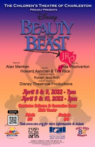 Beauty and beast Jr. Poster social media