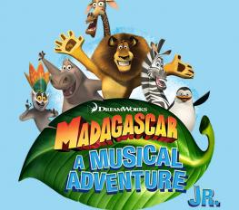madagascar jr. logo